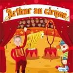 couverture livre personnalisé au cirque
