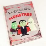 Livre bébé et imagier pour bébé Le grand livre des monstres