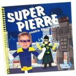 livre personnalisé super héros