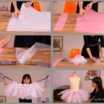 DIY costume princesse enfant