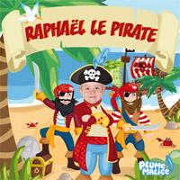 Livre enfant personnalisé chez les pirates