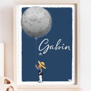 Le garçon et la Lune