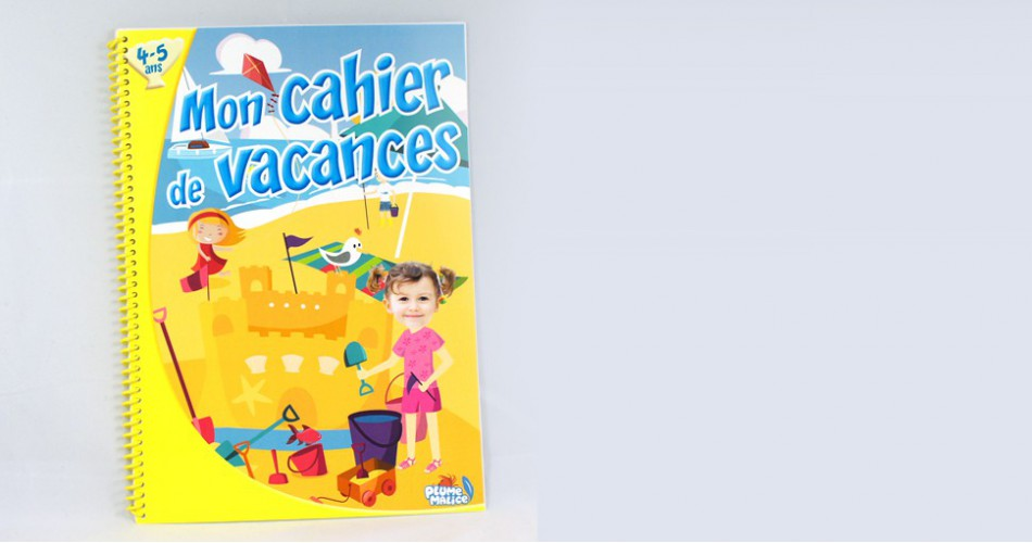 Cahier de vacances 4-5 ans
