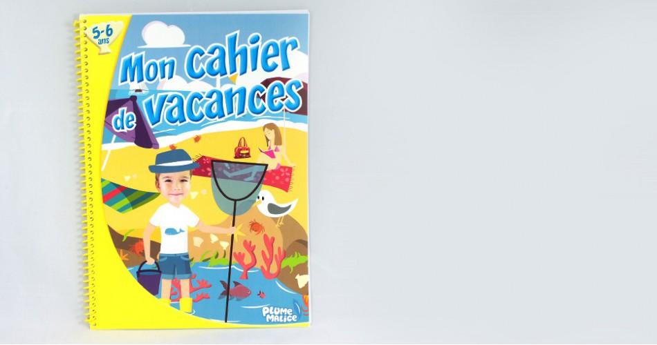 Cahier de vacances 5-6 ans