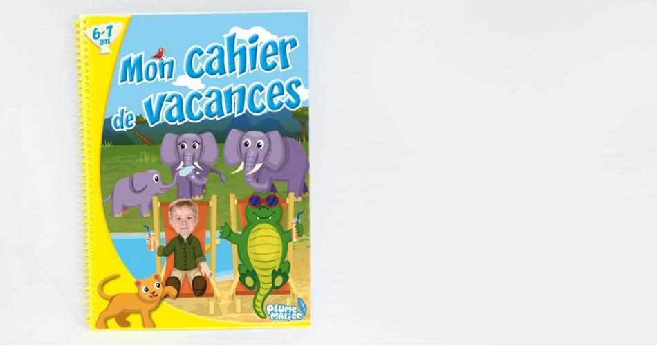 Cahier de vacances 6-7 ans