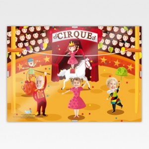 Au cirque version famille