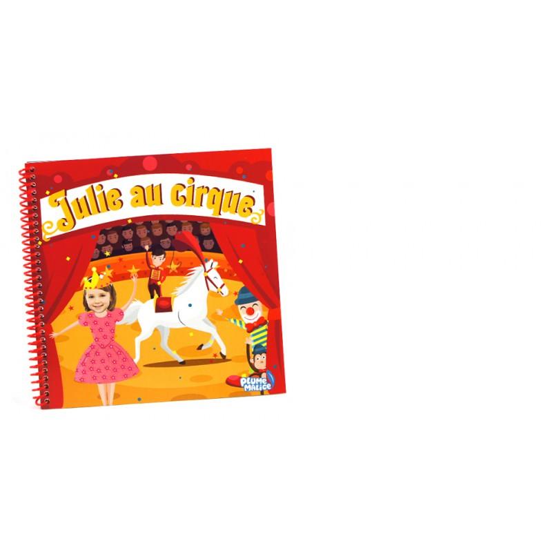 Assez Livre personnalisé au Cirque pour enfant avec photo - Plume Malice FE53