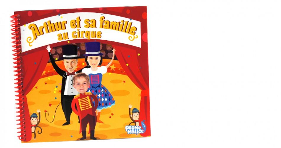 Ma famille au cirque