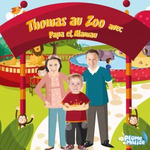 En famille au zoo