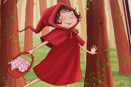 le petit chaperon rouge mic mac